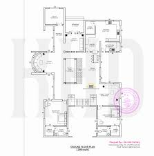contemporary home plan by de sine factory kerala home design and