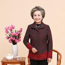 clothing for elderly women s coat jacket jacket the elderly 80