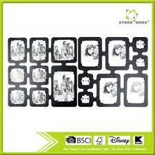 26 pcs frame diy decorative room dividers black wall sticker
