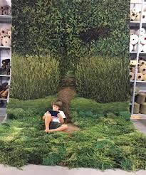 Forest Green Bathroom Rugs by Fake Moss Carpet U2013 Meze Blog
