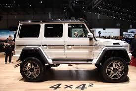 geneva 2015 mercedes g500 4x4 squared arrives the truth about cars