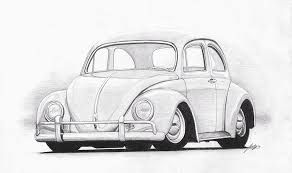 sketches for sketches of cars vw bug www sketchesxo com