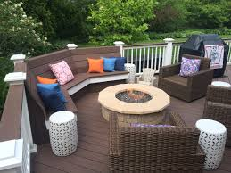 Patio Furniture Milwaukee Wi by Have A Seat Best Deck Bench Ever Remodeling Report