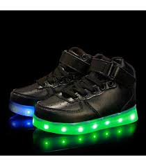 led light up shoes for adults glidekicks juniors black high tops led sneakers light up shoes usb