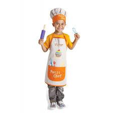 tablier et toque de cuisine tablier enfant avec toque pradel