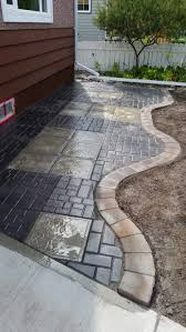 custom design paver patio jat u0027s backyard landscaping