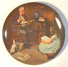 value of norman rockwell plates norman rockwell plates price