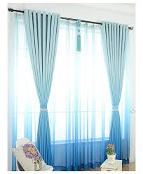 Purple Ombre Curtains Grade Solid Color Graceful Modern Curtains For Living Room