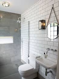 Subway Tiles In Bathroom The 25 Best White Subway Tile Bathroom Ideas On Pinterest White