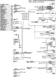 engine compartment and headlight wiring diagram of 1988 toyota