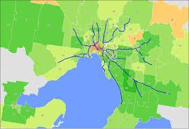 Uvm Campus Map Melbourne Map Maps Melbourne Australia