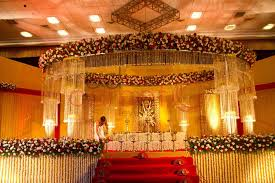 reception stage for indian wedding party themes inspiration