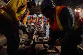 scrambling to fix the subway slow progress but much work remains