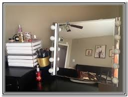 Vanity For Makeup With Lights Makeup Vanity Set With Lights Home Design Ideas