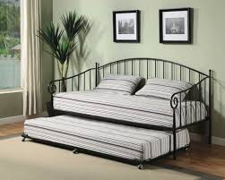 Daybed With Trundle And Mattress Brand Furniture Black Metal Size Day Bed Daybed Frame