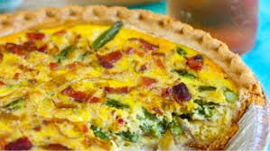 the bachelor u0027s kitchen asparagus leek and bacon quiche