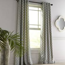 Curtains With Trees On Them Velvet Ogee Mineral Grommet Curtain Pier 1 Imports