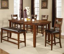figaro counter table with bench u0026 chairs