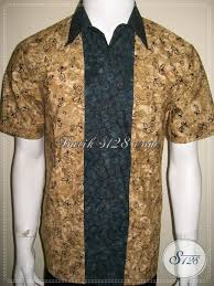 desain baju batik pria 2014 desain baju batik pria kombinasi yang elegan dan baju batik