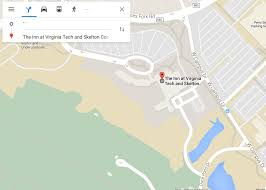 Virginia Tech Parking Map by Pmdc Pamplin Multicultural Diversity Council