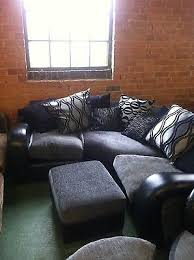 Fabric And Leather Sofa by Best 25 Dfs Leather Corner Sofa Ideas On Pinterest Dfs Leather