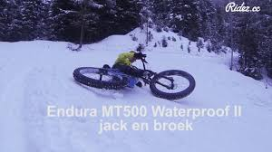 mtb waterproof endura mt500 waterproof ii jacket youtube