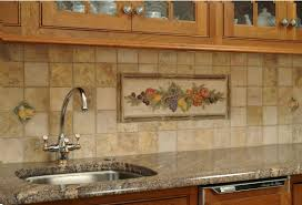 How To Put Up Kitchen Backsplash by Travertine Tile Kitchen Backsplash From How To Install How To Cut