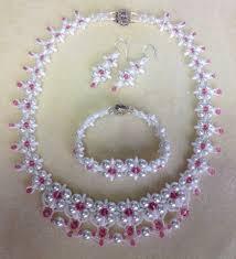 beads necklace set images Tutorial dream wedding necklace set part 1 video 58 jpg