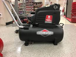 briggs u0026 stratton 8 gal oil free portable electric air compressor