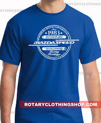 mazda corporate headquarters mazdaspeed mazda t shirt men tee racing tshirt rx7 787b
