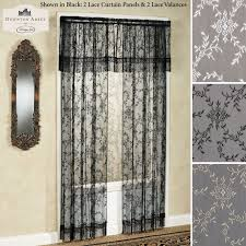 black lace net curtains black lace panel curtains sale new