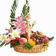 flowers and fruits send fruits to india online fruit basket india online fruit