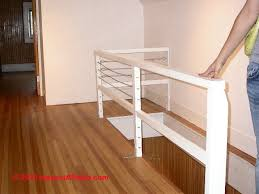 Stairs Without Banister Cable Railings Building Code Rules U0026 Installation Specifications