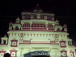 Decoration Of Durga Puja Pandal Rakhi Sangha Sonai Road Silchar Durga Puja Pandal And Decoration