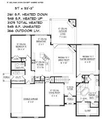 traditional style house plan 4 beds 3 00 baths 3920 sq ft plan