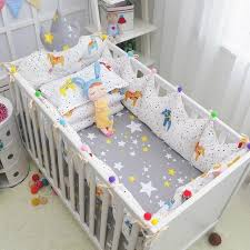 Complete Crib Bedding Sets Cozy Baby Crib Bedding Complete Set Tales Style Cotton Baby