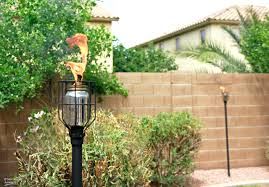 how to use tiki torches to light up the outdoors