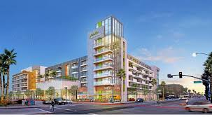 Long Beach Towers Apartments Rent by Downtown Long Beach Residential Retail Complex Planned For