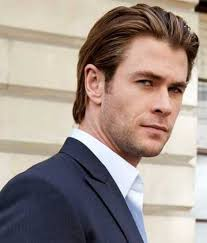 haircut lengths for men distinguished hair smoothed back behind the ears http