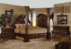 Luxurious Bed Frames Luxurious Carving Wood And Gold Iron Combo King Size Canopy Frame