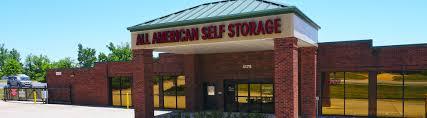 Indoor Storage Units Near Me by Storage Units In Alabama And Georgia All American Self Storage