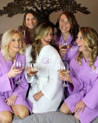waffle robes for bridesmaids bridesmaid spa robe in many colors 1 of a wedding