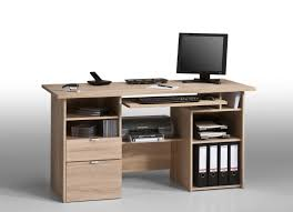 bureau informatique bois massif bureau informatique contemporain chêne sonoma marirose bureau bureau