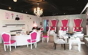 Nail Salon With Kid Chairs Salon Profile Sitting Pretty At Dallas Beauty Lounge Beauty