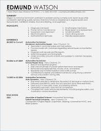 resume templates that stand out automotive technician resume template fluently me