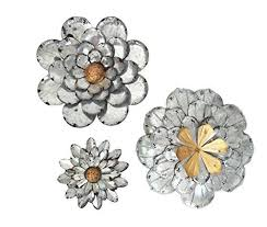 Metal Flower Wall Decor - discover unique popular and cool metal home wall art decor