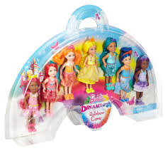 barbie rainbow cove 7 doll gift set walmart com