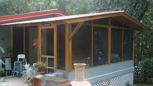 screen porch roof red tin inn winterizing your screen porch