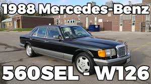 1988 mercedes benz 560sel full tour w126 testdrive youtube