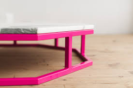 pink table l pink coffee table coffee drinker